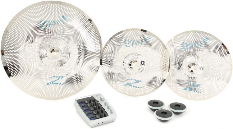 gen16 acoustic electric cymbal box set 13 hi hat 18 ride sweetwater. Black Bedroom Furniture Sets. Home Design Ideas