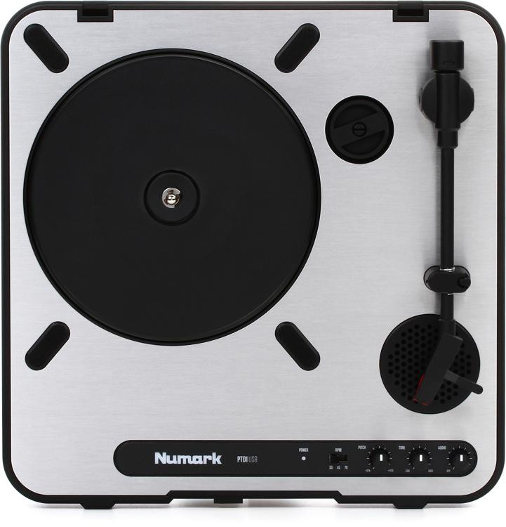 Numark PT-01USB Portable Turntable image 1