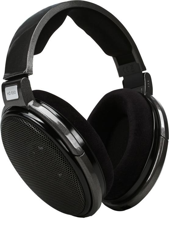 sennheiser hd 650 open back audiophile and reference headphones sweetwater. Black Bedroom Furniture Sets. Home Design Ideas