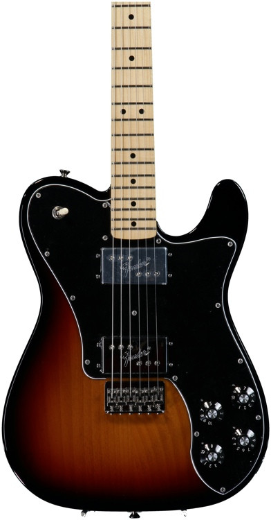 Fender \'72 Telecaster Deluxe - 3-color Sunburst with Maple Fingerboard image 1