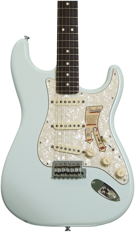 fender deluxe roadhouse stratocaster sonic blue sweetwater. Black Bedroom Furniture Sets. Home Design Ideas