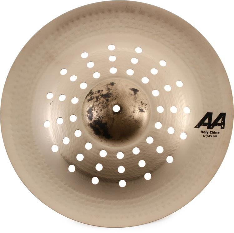 sabian 17 aa holy china cymbal brilliant finish sweetwater. Black Bedroom Furniture Sets. Home Design Ideas