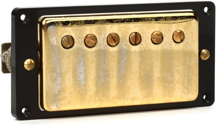 seymour duncan antiquity humbucker pickup gold neck sweetwater. Black Bedroom Furniture Sets. Home Design Ideas