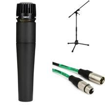 Shure SM57 with Stand and Cable