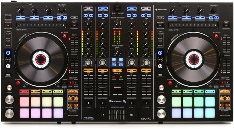 Pioneer DJ DDJ-RX 4-deck rekordbox DJ Controller image 1