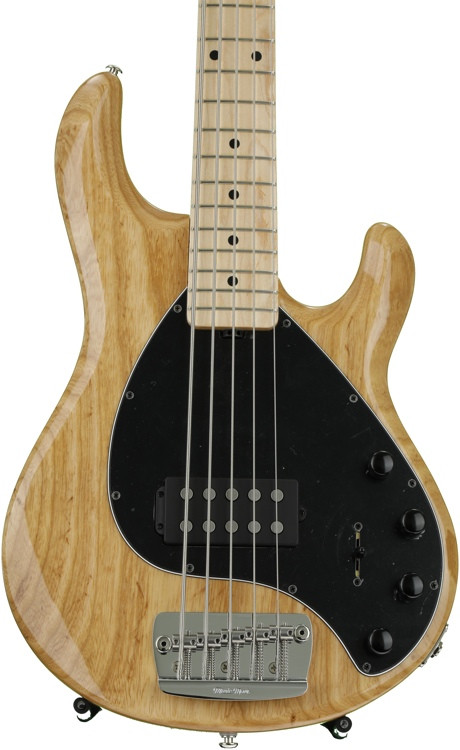 ernie ball music man stingray 5 h natural maple fingerboard sweetwater. Black Bedroom Furniture Sets. Home Design Ideas