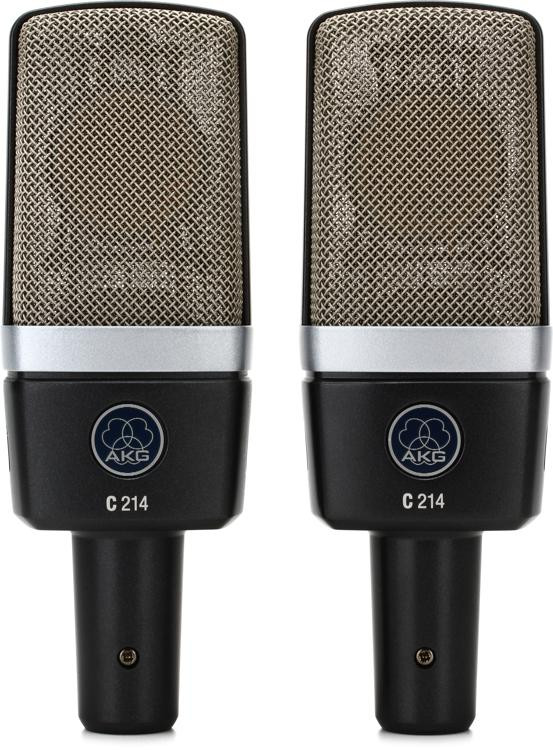 AKG C 214 Matched Stereo Pair image 1