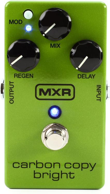 MXR M269SE Carbon Copy Bright Analog Delay Pedal image 1