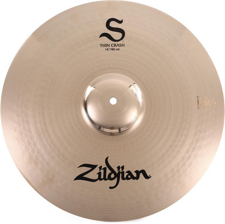 Zildjian S Series Thin Crash Cymbal - 16