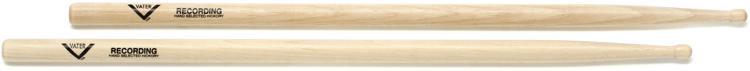 Vater American Hickory Drumsticks - Recording - Wood Tip image 1