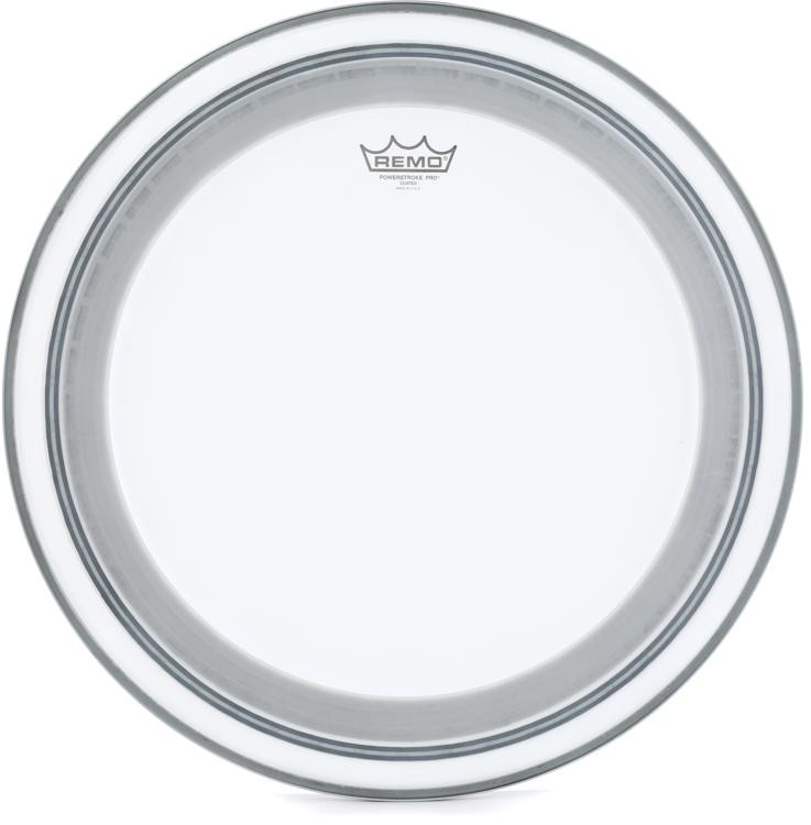 Remo Powerstroke Pro Coated Bass Drum Head - 20