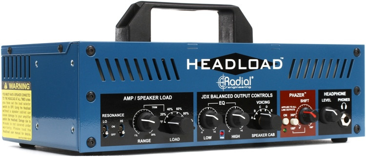 Radial Headload V16 Speaker Load Box with Cab Simulator image 1