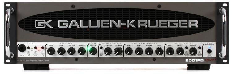 Gallien-Krueger 2001RB 1080-Watt Compact Bass Head image 1
