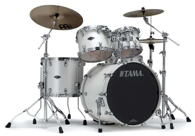Tama Starclassic Performer B/B Shell Pack - 4-piece - Satin Pearl White image 1