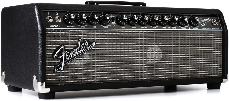 Fender Bassman 500HD Head Black/Silver image 1