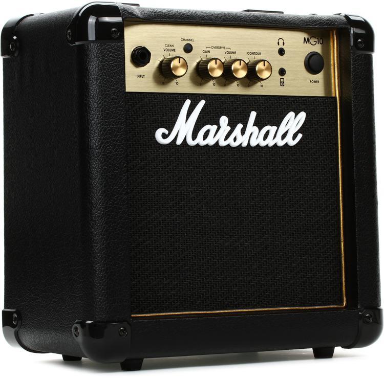 marshall mg10g 10 watt 1x6 5 combo amp sweetwater. Black Bedroom Furniture Sets. Home Design Ideas