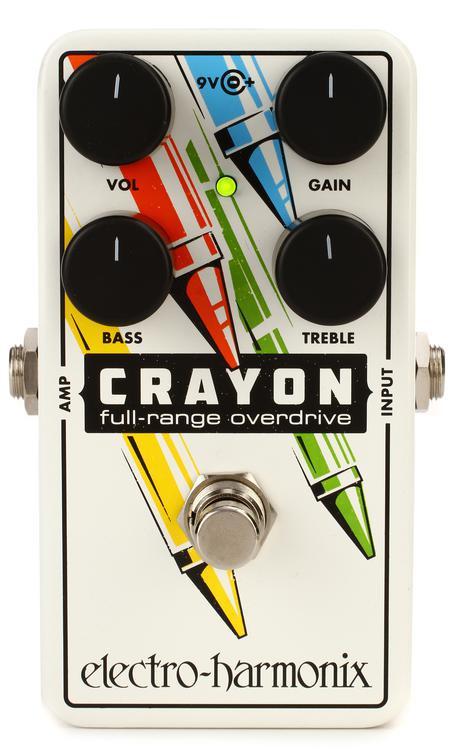 Electro-Harmonix Crayon 76 Full-range Overdrive Pedal image 1