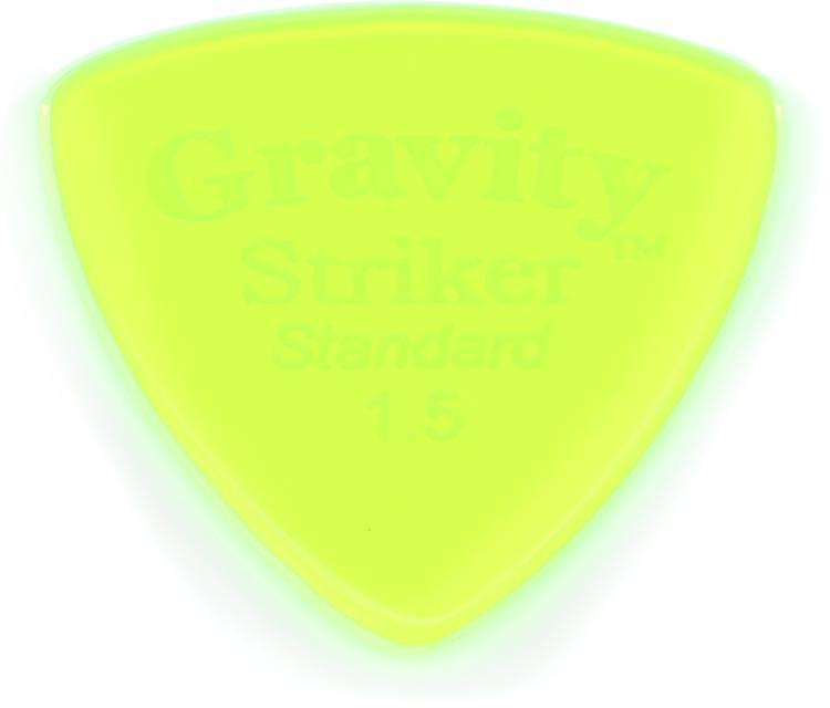 Gravity Picks Striker - Standard Size, 1.5mm, Polished image 1
