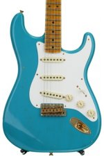 Fender Custom Shop 20th Anniversary Relic Stratocaster Ltd. Ed. - Taos Turquoise with Maple Fingerboard