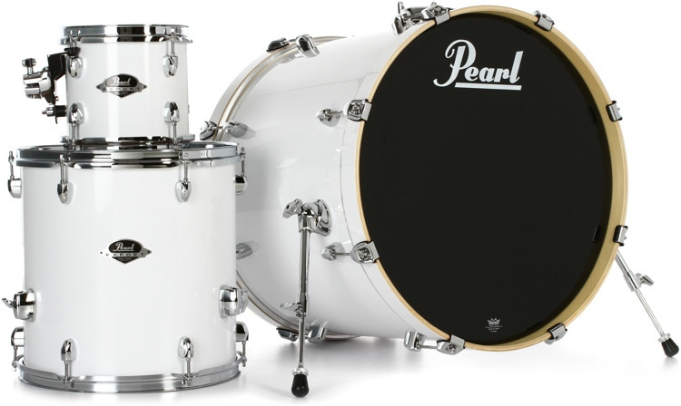 Pearl Export EXX 3-piece Add-on Kit with Hardware - Pure White image 1