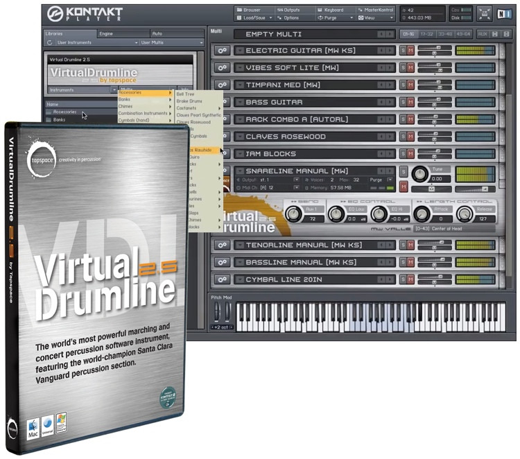 Tapspace Virtual Drumline 2.5 image 1