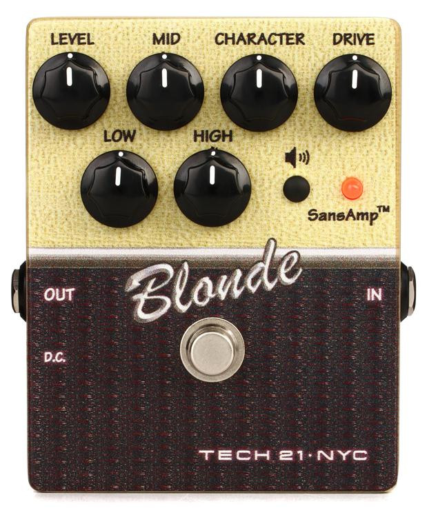 tech 21 character series blonde v2 overdrive pedal sweetwater. Black Bedroom Furniture Sets. Home Design Ideas