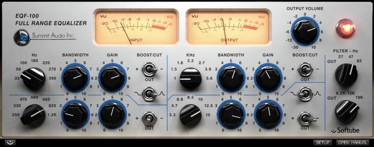 Softube Summit Audio EQF-100 Plug-in image 1