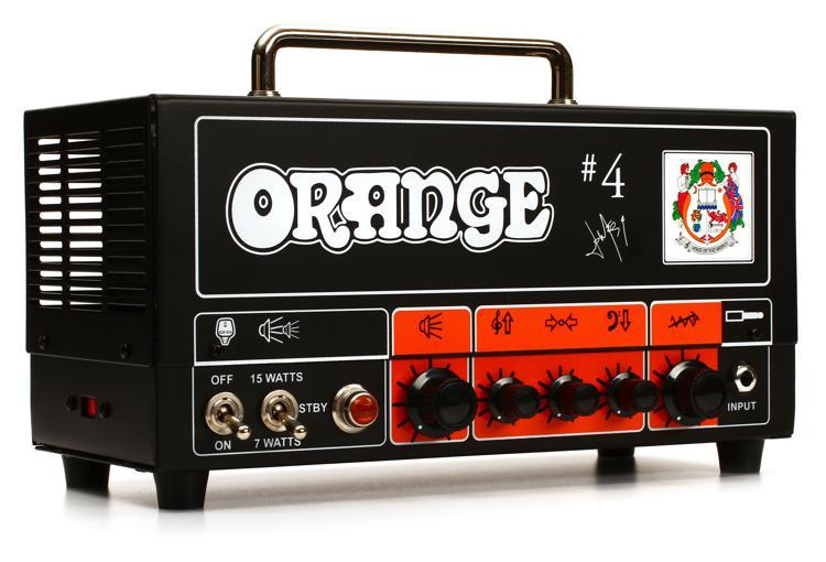 Orange Signature #4 Jim Root Terror 15/7-watt Hi-Gain Tube Head image 1