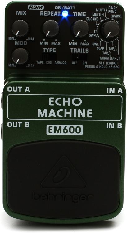 Behringer EM600 Echo Machine Pedal image 1