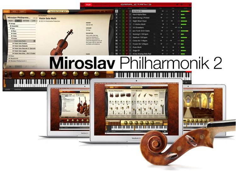 IK Multimedia Miroslav Philharmonik 2 - Crossgrade (boxed with USB Drive) image 1