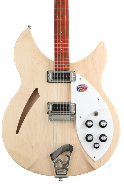 Rickenbacker 330 Thinline - Mapleglo image 1