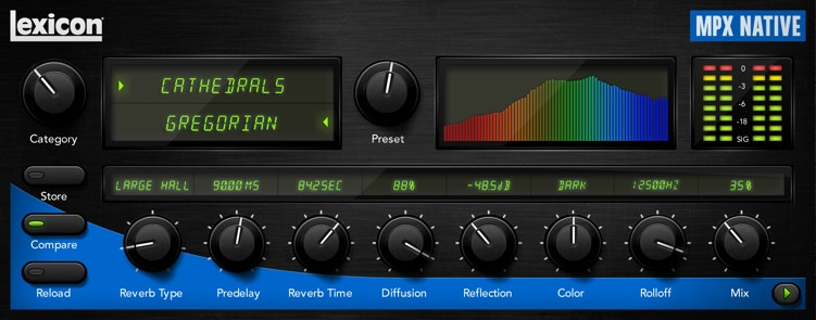 Lexicon MPX Native Reverb Plug-in image 1