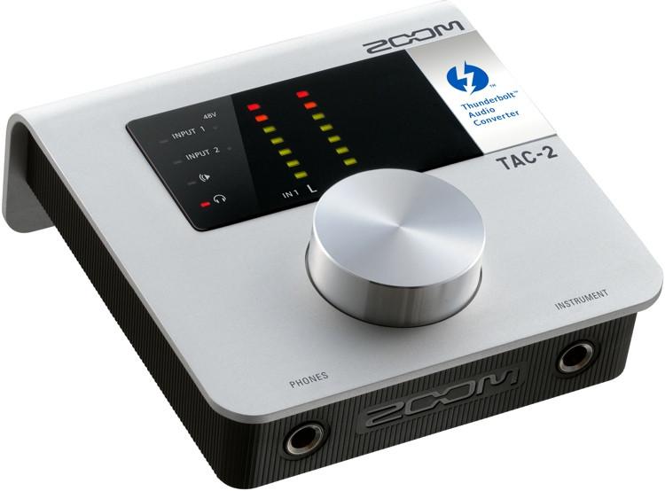 Zoom TAC-2 2x2 Thunderbolt Audio Interface image 1