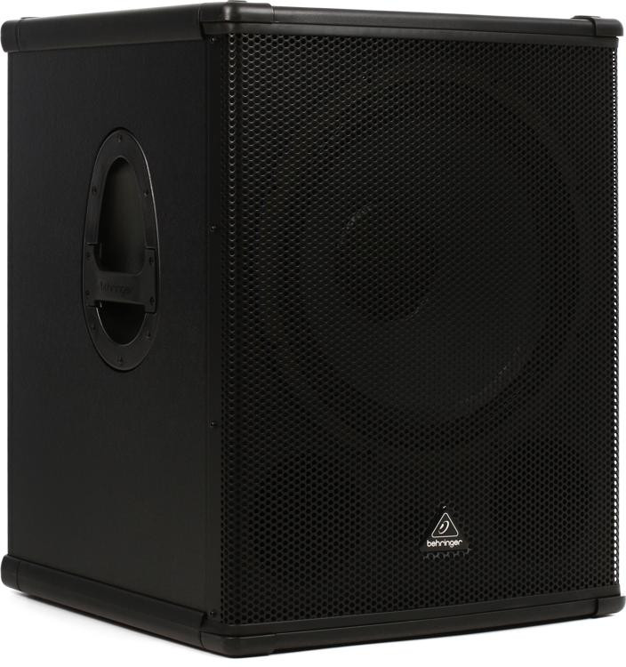 behringer b1800xp 3000w 18 powered subwoofer sweetwater. Black Bedroom Furniture Sets. Home Design Ideas