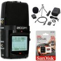 Zoom H2n Handy Recorder Bundle