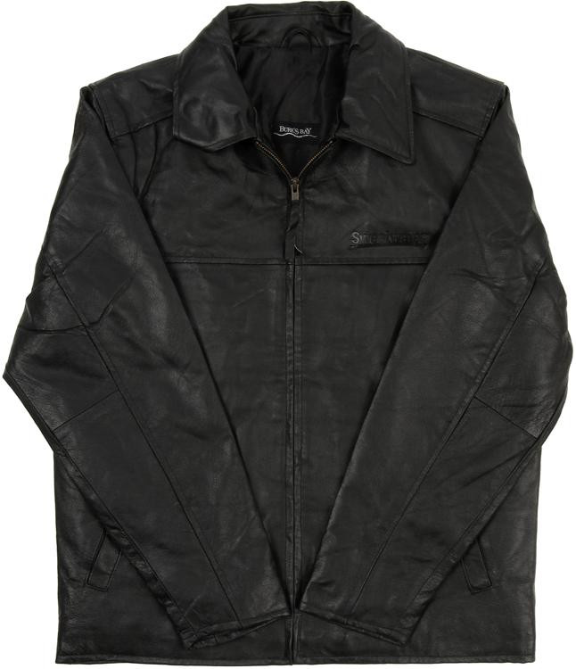Sweetwater Napa Leather Driving Jacket - Black, XL image 1