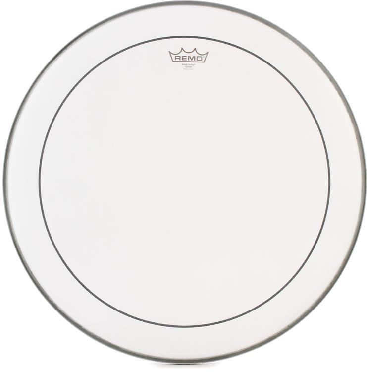 Remo Coated Pinstripe Bass Drum Head - 22