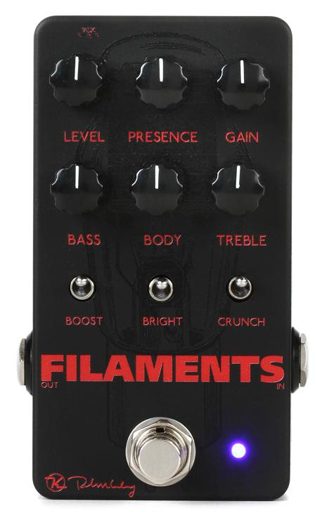 keeley filaments high gain distortion pedal sweetwater. Black Bedroom Furniture Sets. Home Design Ideas