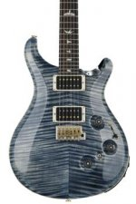 PRS Custom 24 Piezo 10-Top - Faded Whale Blue with Pattern Thin Neck