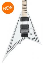 Jackson RR24 X Series Rhoads - Satin White with Black Pinstripes