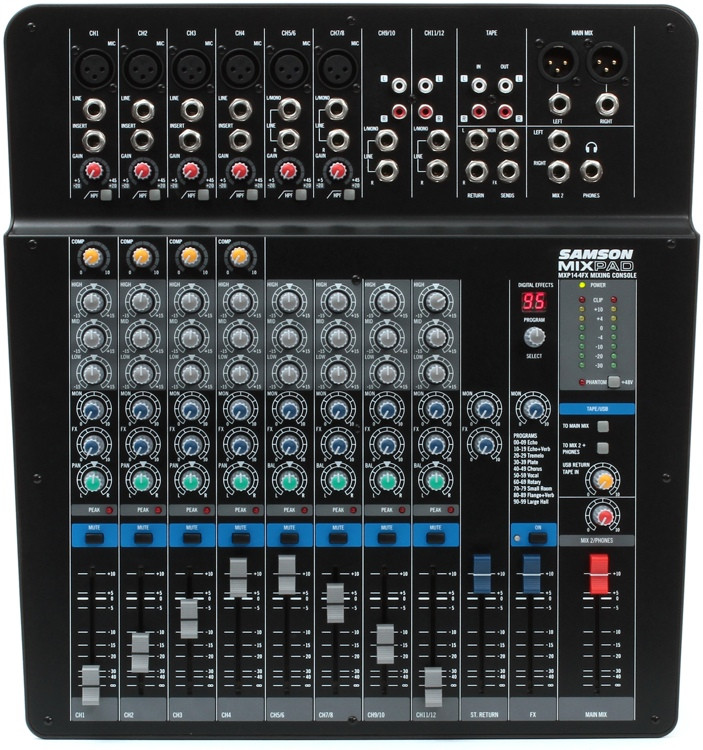 Samson MixPad MXP144FX image 1