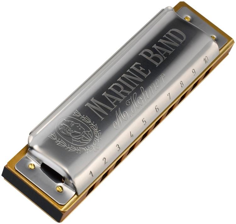 Hohner Marine Band - Key of B Natural Minor image 1