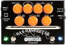 Orange Bax Bangeetar Guitar Pre-EQ Pedal - Black