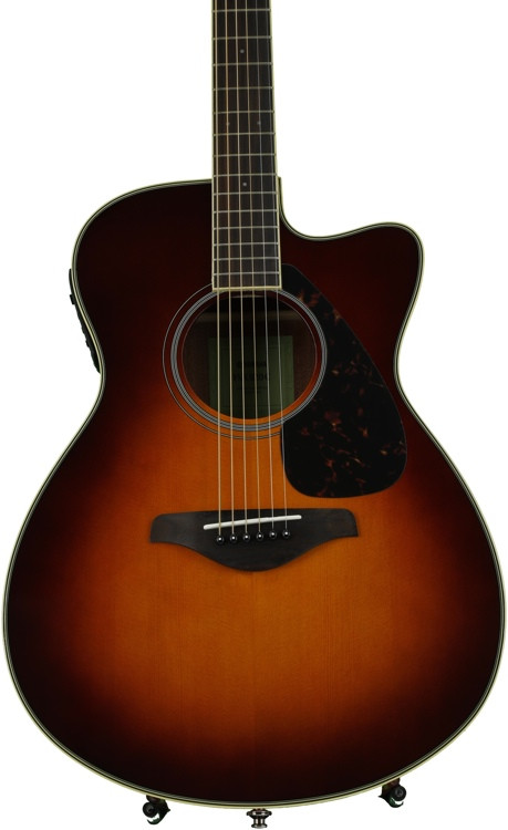 Yamaha FSX820C - Brown Sunburst image 1