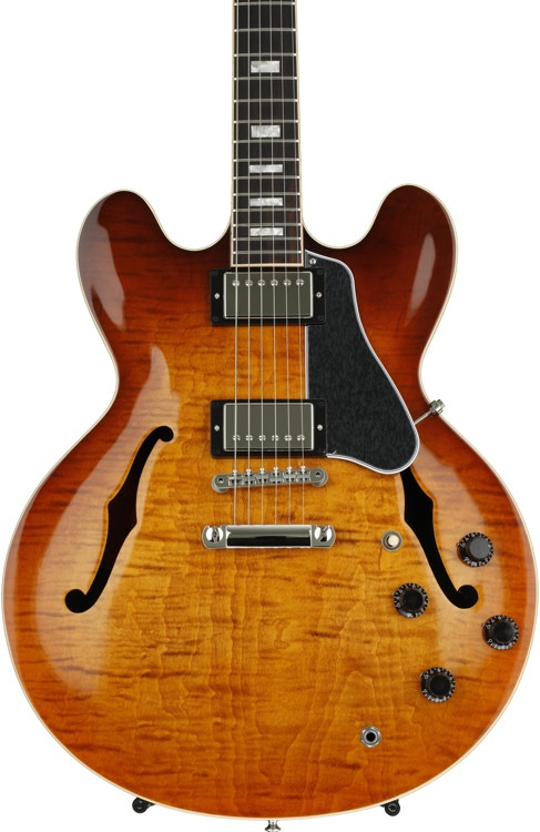 Gibson Memphis ES-335 Figured - Faded Lightburst image 1