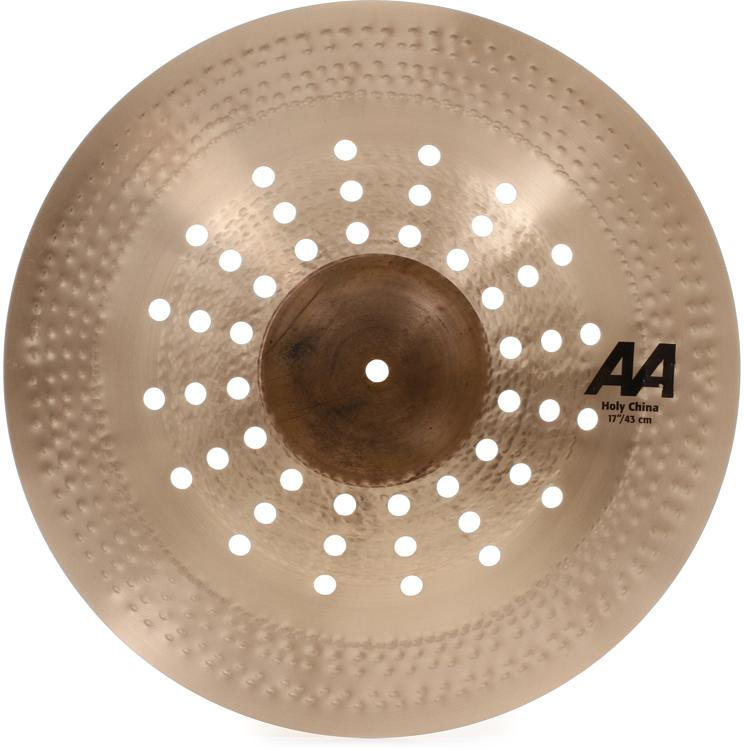 sabian 17 aa holy china cymbal sweetwater. Black Bedroom Furniture Sets. Home Design Ideas