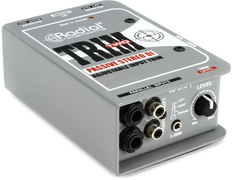 Radial Trim-Two 2-channel Passive A/V Direct Box image 1