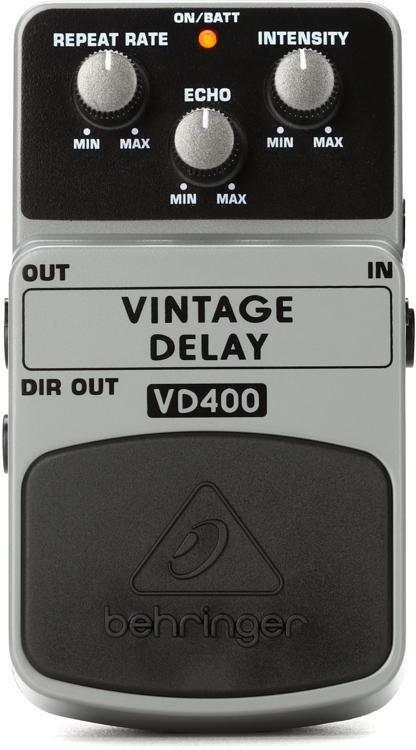 Behringer VD400 Vintage Delay Pedal image 1