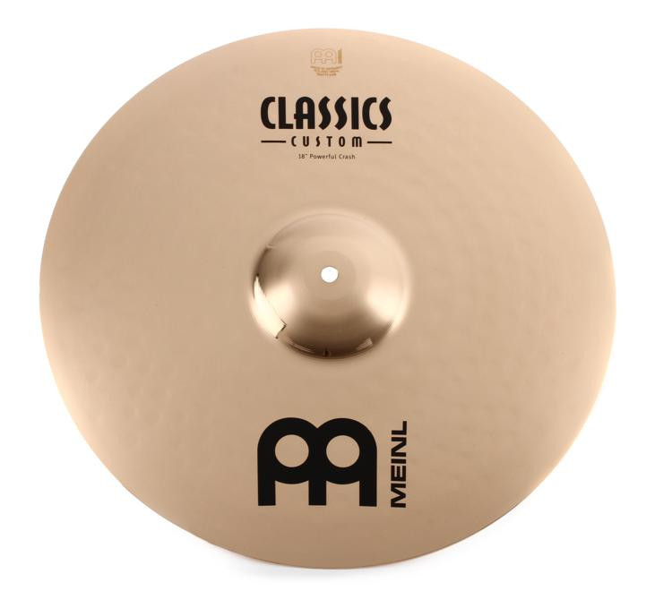 Meinl Cymbals Classics Custom Brilliant Powerful Crash - 18