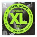 D'Addario EXL165TP Nickel Wound Long Scale Light Top Medium Bottom Bass Strings 2-Pack